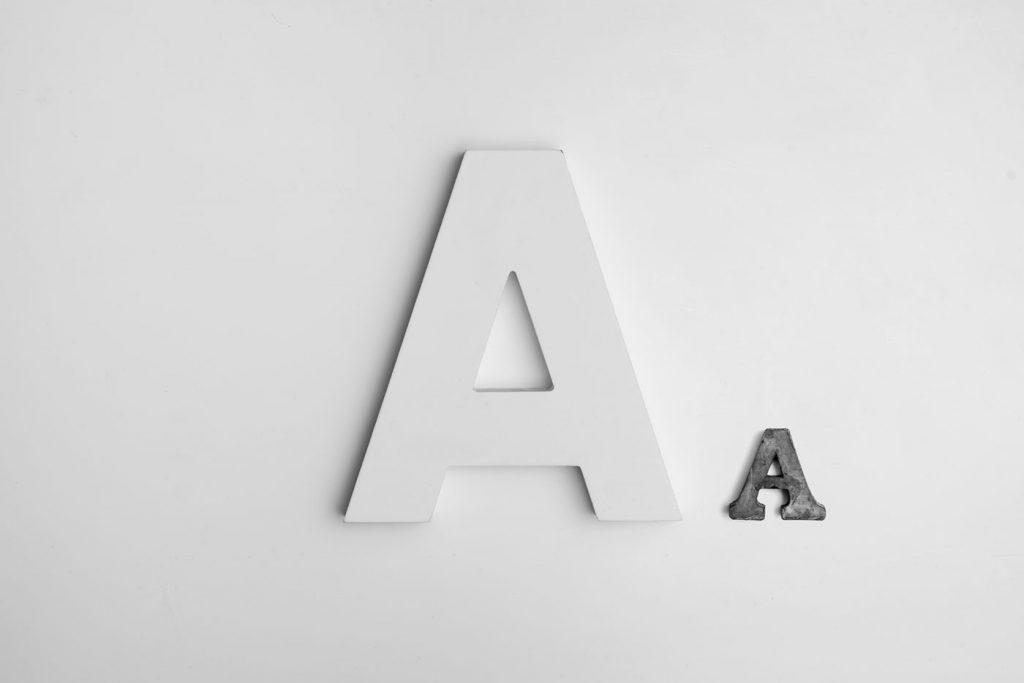 charte graphique et typographie